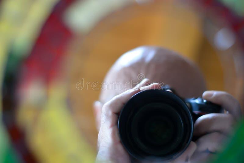 La caméra prendre une photo photographie stock libre de droits