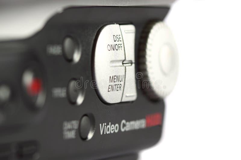 La caméra vidéo commande A photographie stock libre de droits