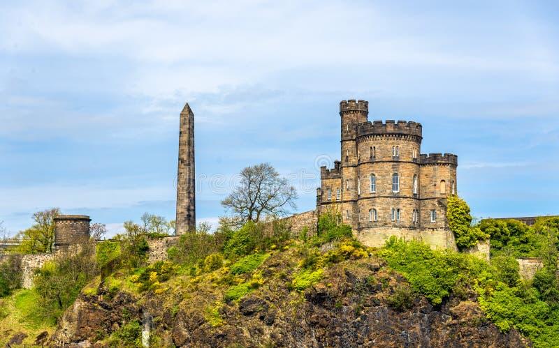 La Camera del governatore sulla collina di Calton a Edimburgo immagine stock libera da diritti