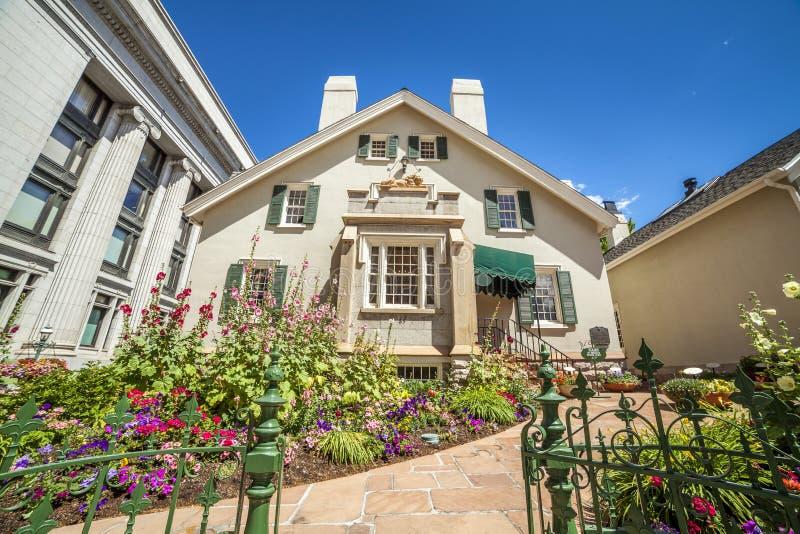 La Camera dell'alveare, la residenza storica dei san dei giorni nostri in sale fotografia stock