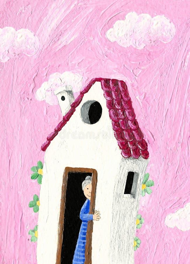 La Camera della nonna illustrazione di stock