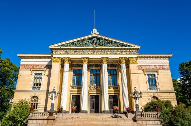 La Camera delle proprietà, una costruzione storica a Helsinki, aletta fotografia stock
