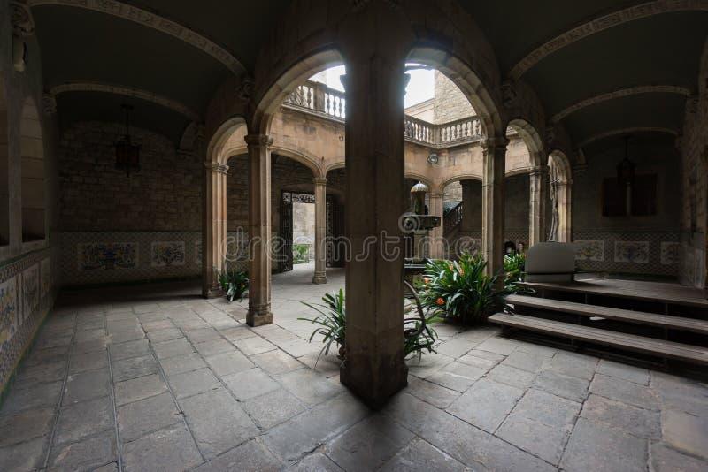 La Camera di Archdeacon's, Barcellona, Spagna fotografia stock