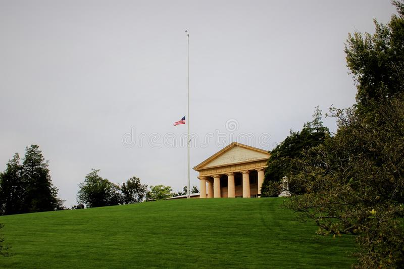 La Camera di Arlington, il memoriale del Robert il E Lee Memorial immagine stock libera da diritti