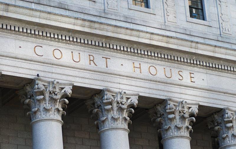 La Camera di corte di parole fotografia stock libera da diritti