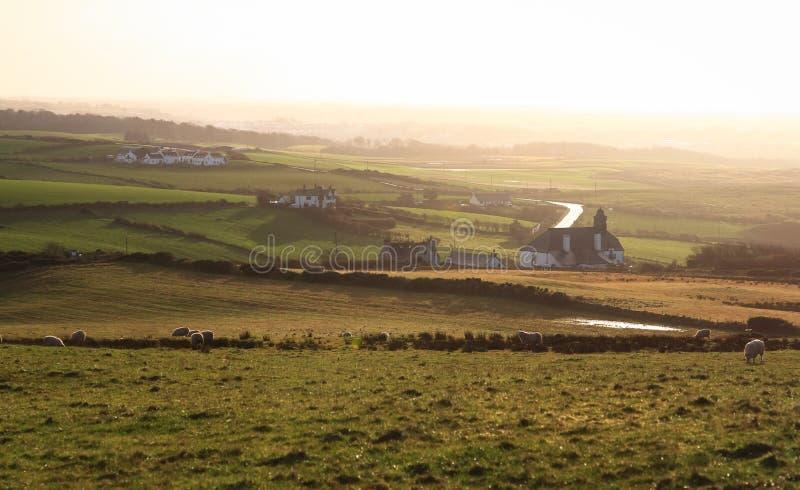 La campagna rurale dell'Irlanda del Nord immagini stock