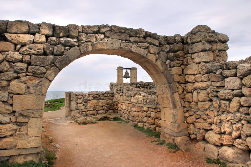La campana de Chersonesos imagenes de archivo