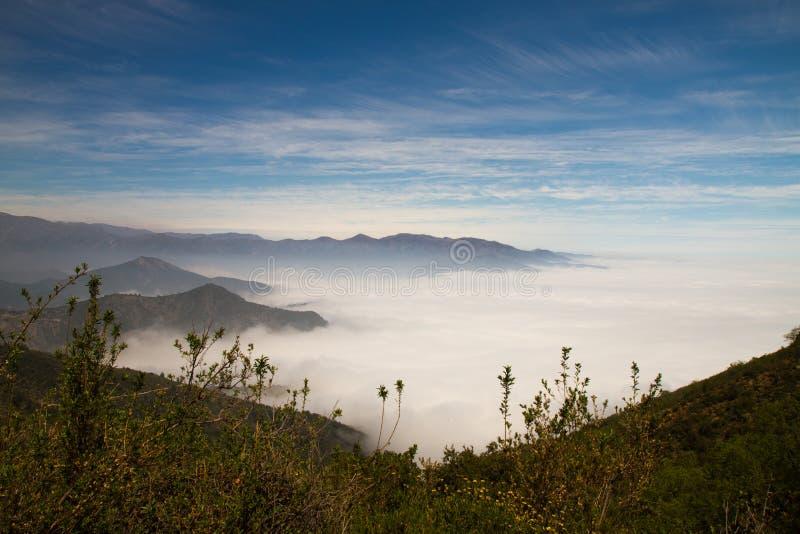 La Campana National Park, Chile lizenzfreie stockbilder