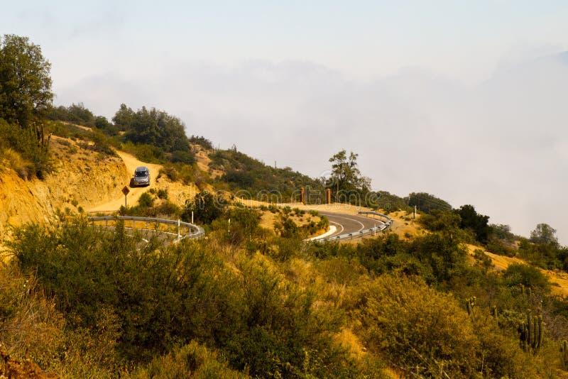 La Campana National Park, Chili royalty-vrije stock afbeeldingen