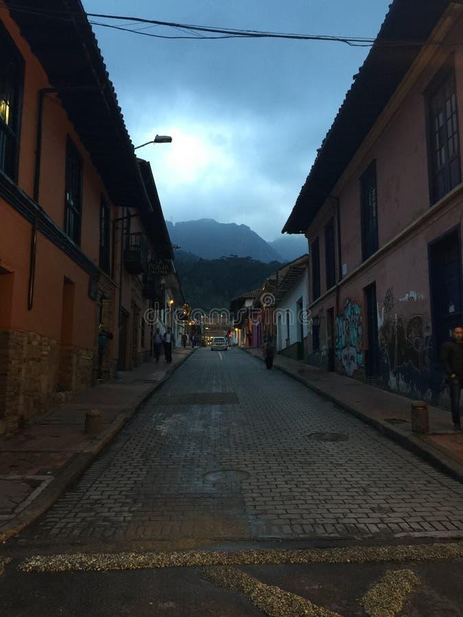 La Candelária, ¡ de BogotÃ, Colombie images libres de droits