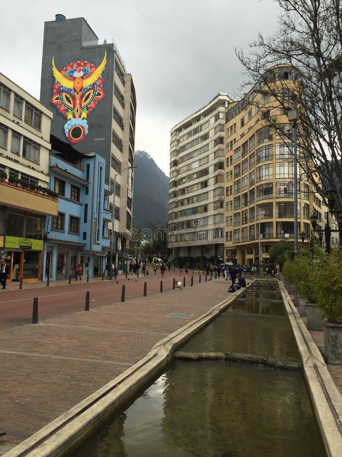 La Candelária, ¡ de BogotÃ, Colombie image stock