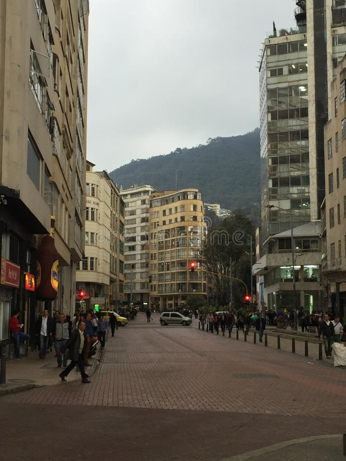 La Candelaria, Bogotá, Colombia royalty free stock image