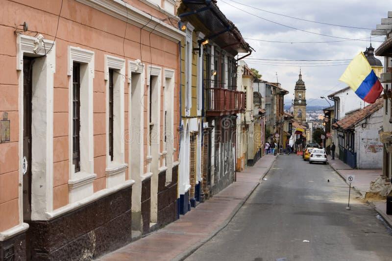 La Candelaria a Bogota immagine stock libera da diritti