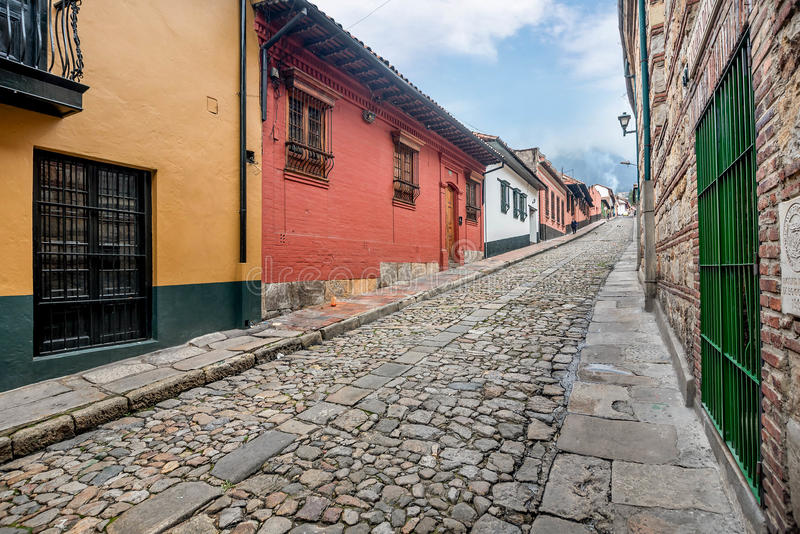 La Candelaria Bogota, Colômbia imagem de stock royalty free
