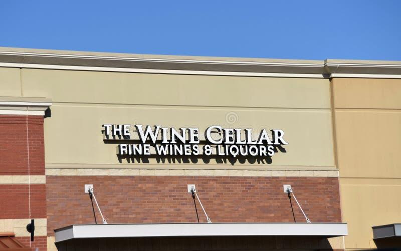 La cantina, l'indennità, i vini ed i liquori, Olive Branch, ms immagini stock libere da diritti
