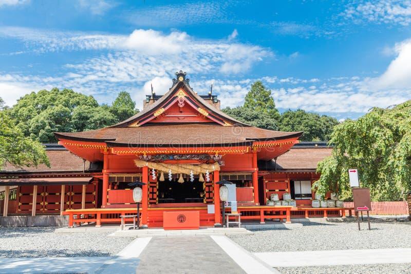La capilla de Fujisan Sengen era una de la capilla más grande y más magnífica imágenes de archivo libres de regalías