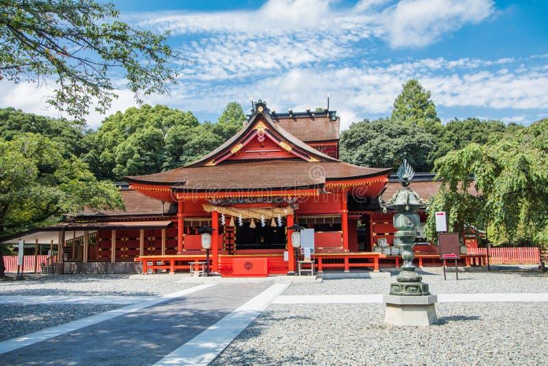 La capilla de Fujisan Sengen era una de la capilla más grande y más magnífica fotos de archivo