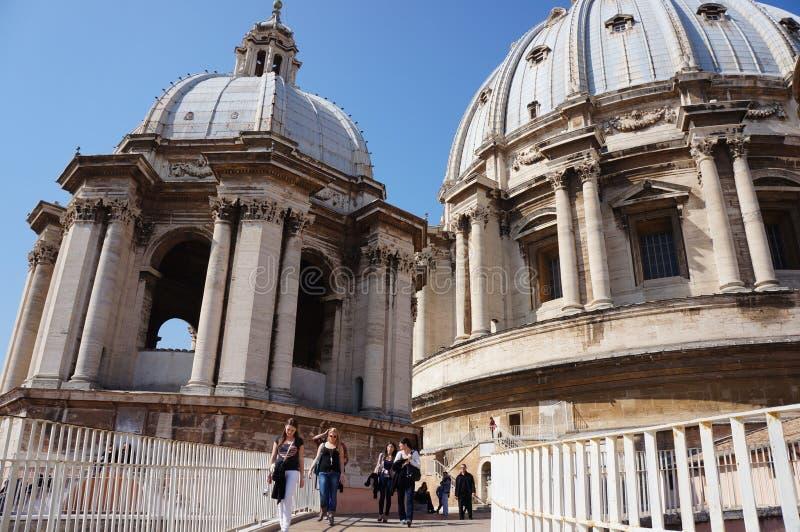 La capilla de la basílica del S. Pedro fotografía de archivo