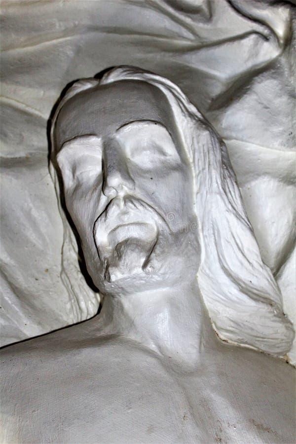 La capilla de Saint Joseph de las montañas, Yarnell, Arizona, Estados Unidos foto de archivo libre de regalías