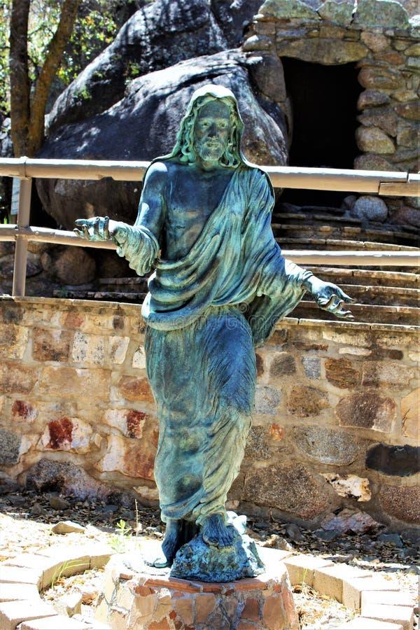 La capilla de Saint Joseph de las montañas, Yarnell, Arizona, Estados Unidos fotos de archivo libres de regalías