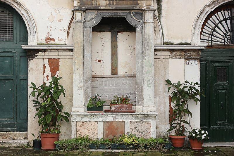 La capilla de una Venecia imagen de archivo libre de regalías