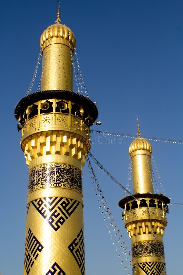 La capilla del imán Abbas fotografía de archivo