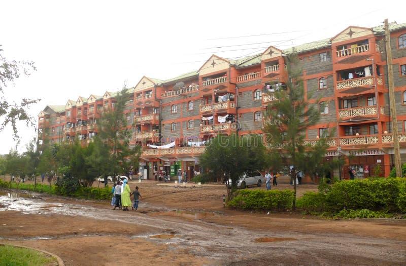 la capital de Kenia. foto de archivo