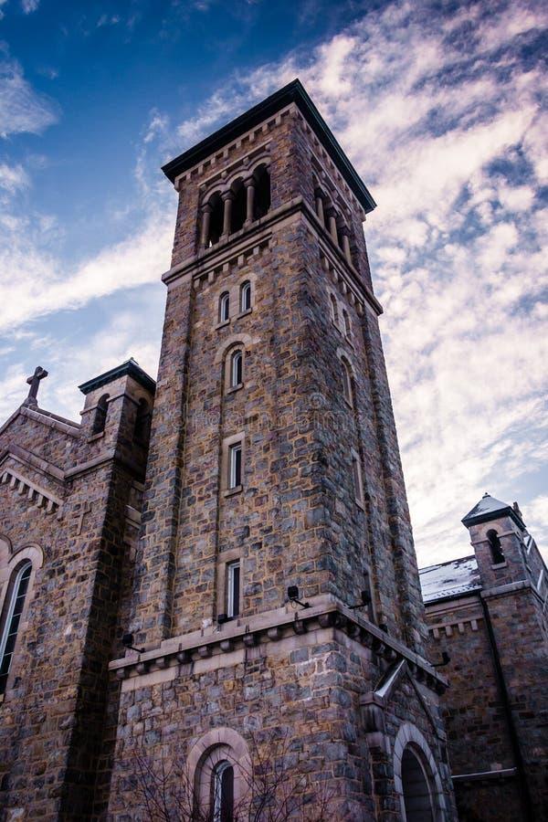 La cappella dell'immacolata concezione al Univ di St Mary del supporto immagine stock libera da diritti