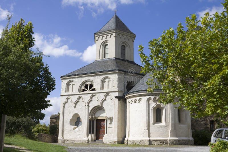 La cappella della st Matthias in Kobern-Gondorf, Germania fotografia stock