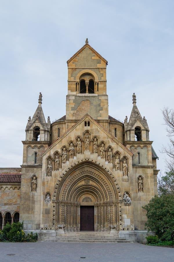 La cappella di Jak, Budapest - Ungheria immagine stock libera da diritti