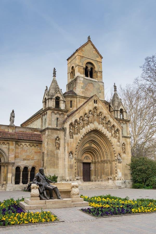 La cappella di Jak, Budapest - Ungheria immagini stock