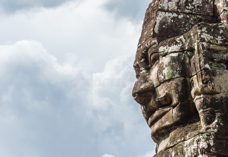 Download La cara de Bayon imagen de archivo. Imagen de cielo, viejo - 41917429
