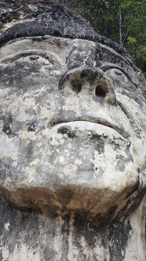 La Cara del Indio (印地安人的面孔;另外角度) 库存照片
