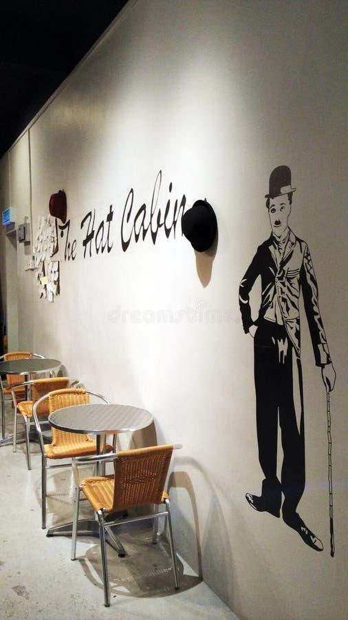 Download La carlingue de chapeau photo stock éditorial. Illustration du amusement - 56475338