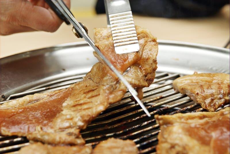 La carne asada de Corea imágenes de archivo libres de regalías