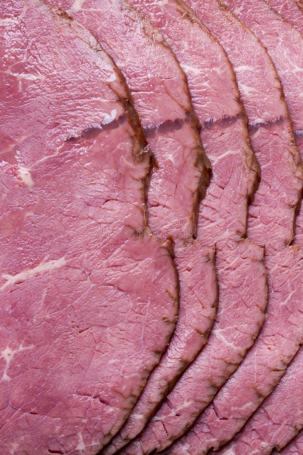 La carne de la carne de vaca cortó para la porción imagen de archivo libre de regalías