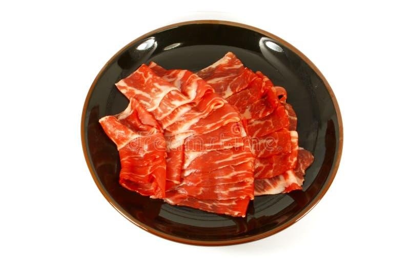 La carne de vaca de Wagyu elimina la carne superior fotos de archivo libres de regalías