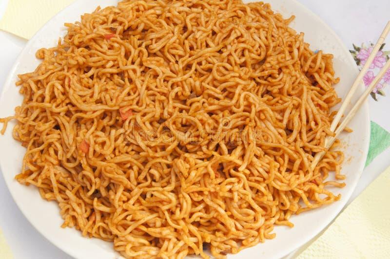 La carotte coréenne forte et piquante et épicée images stock