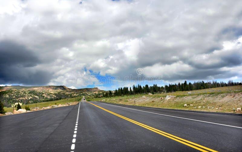 La carretera del Blacktop desaparece foto de archivo