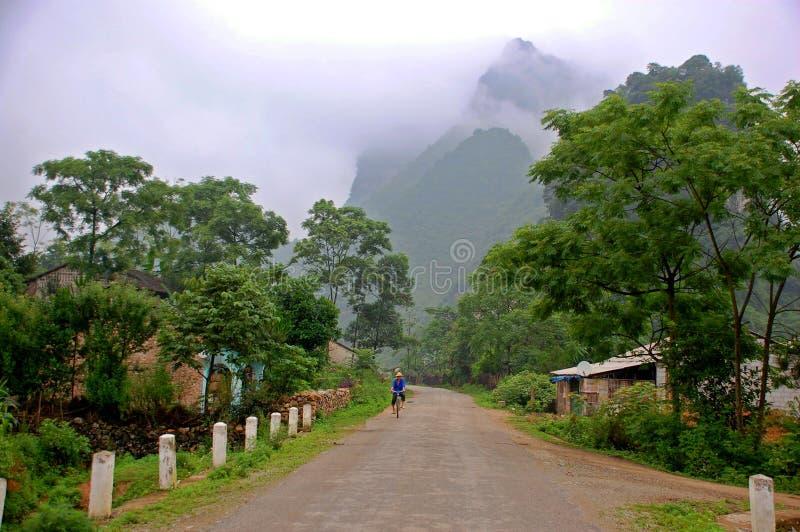 La carretera nacional fotografía de archivo libre de regalías