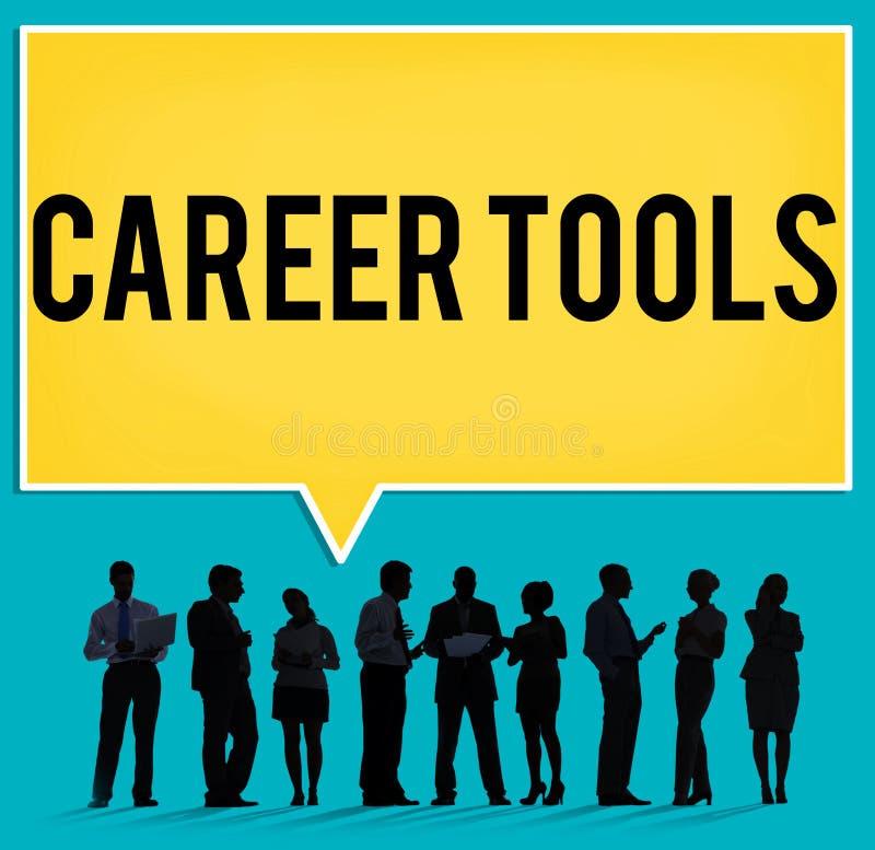 La carriera foggia il concetto di noleggio di occupazione di orientamento immagine stock