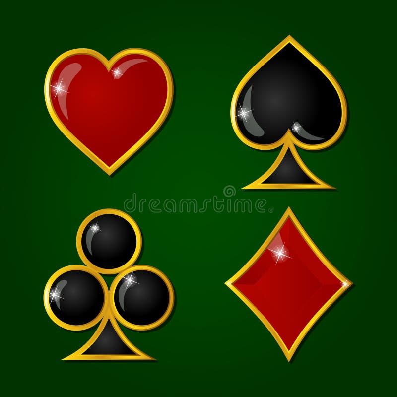 La carta lucida è adatti ai segni royalty illustrazione gratis