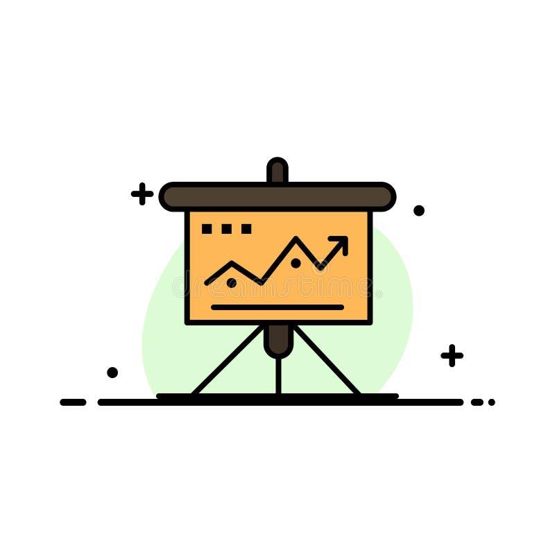 La carta, negocio, desafío, márketing, solución, éxito, línea plana del negocio de las táctica llenó la plantilla de la bandera d ilustración del vector