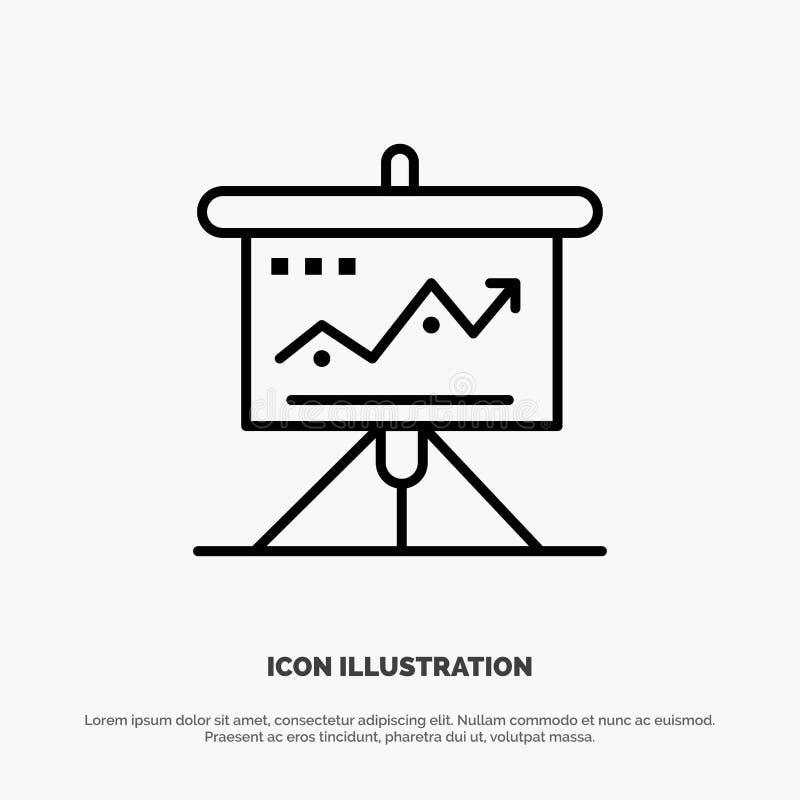 La carta, negocio, desafío, márketing, solución, éxito, táctica alinea vector del icono libre illustration