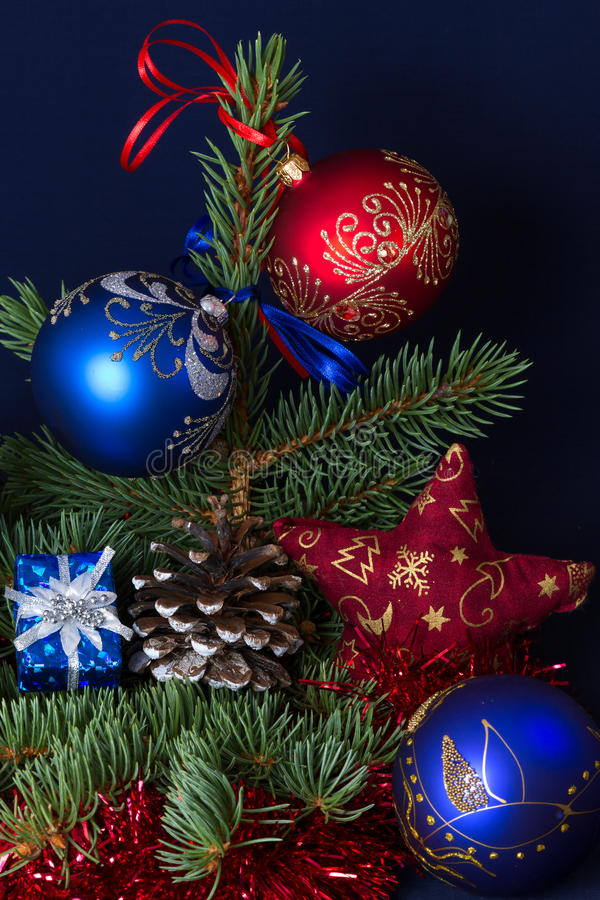 La carte de Noël image libre de droits