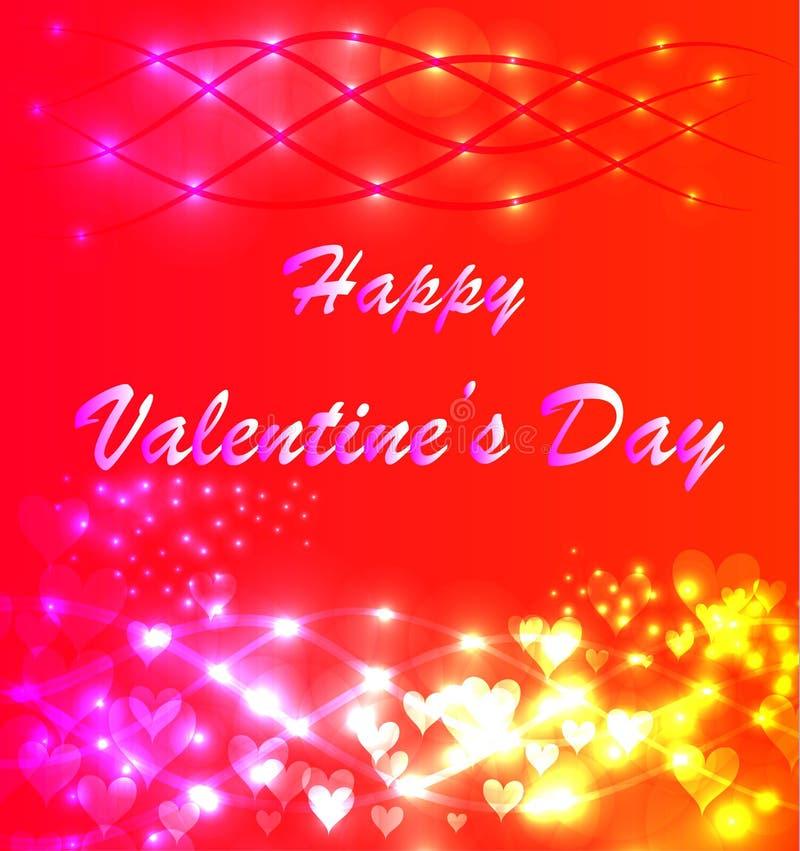 La carte de Valentine illustration libre de droits