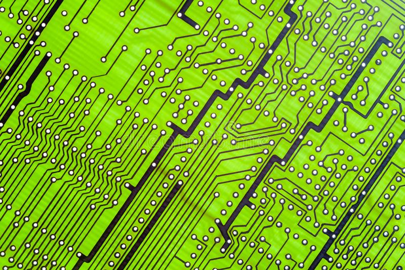 La carte vide, carte PCB a imprimé la technologie, conception photos stock