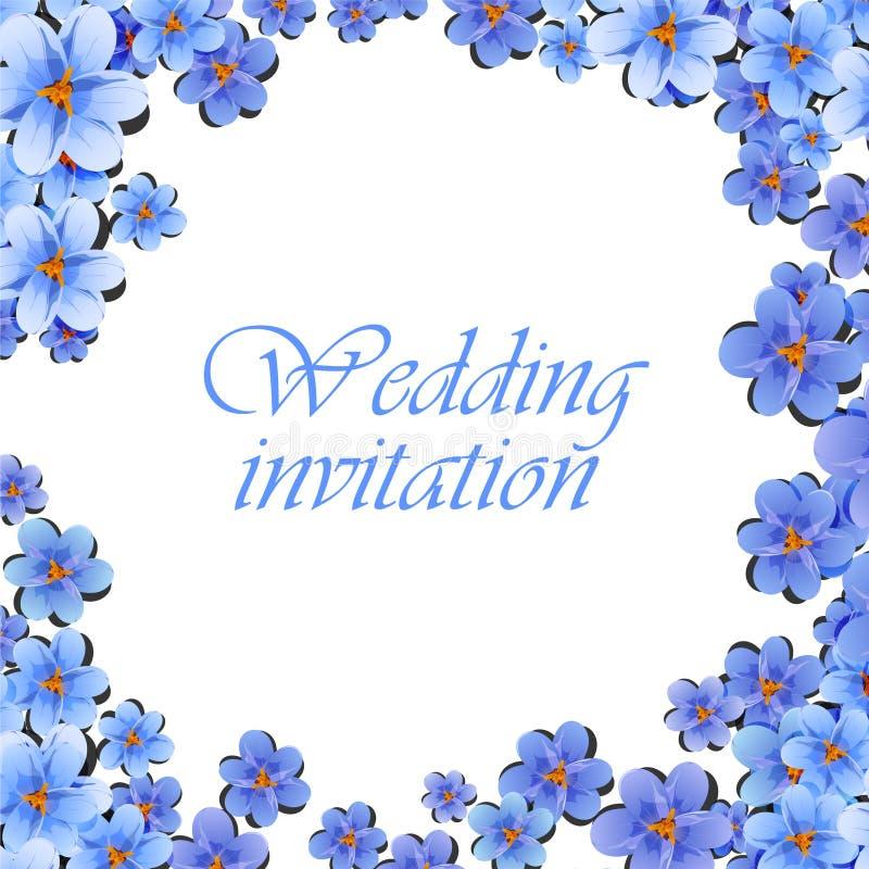 La cartolina d'auguri, acquerello, può essere usata come carta dell'invito per nozze, compleanno e l'altri festa e fondo dell'est illustrazione vettoriale