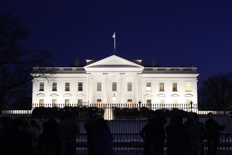 La Casa Bianca fotografie stock libere da diritti
