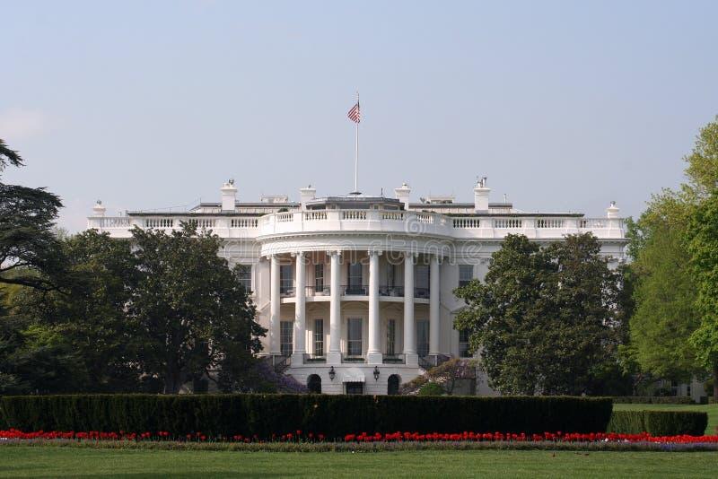 La Casa Bianca di del lato sud immagini stock